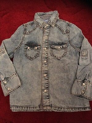 Boys Checked Shirt New Look 2 Years Jean