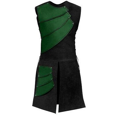 Hand Crafted Green Leather - Archer Armour - Perfect for Re-enactment or LARP