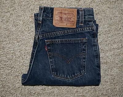 Levi's 517 Levis Vtg Slim Fit Boot Cut Jeans High Waist Mom not redone 26 x 31