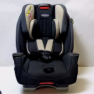 Graco Milestone All-In-One Baby Child Car Seat Group 0+1 2 3 0-12 Yrs, Aluminium