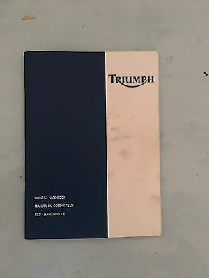 Triumph Sprint ST 955i Owners Manual