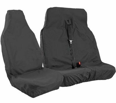 Ford Transit SWB MWB LWB Custom 2013 Heavy Duty Waterproof Van Seat Covers Black