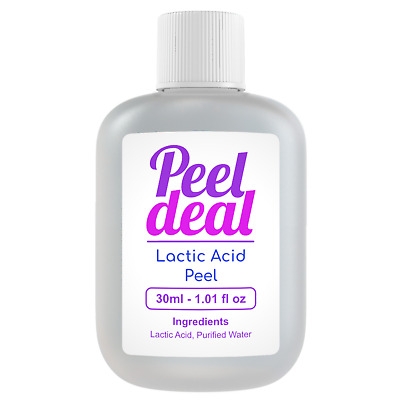 35ml LACTIC ACID PEEL - Facial Skin Peel 10% - 80%