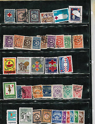 YUGOSLAVIA   COLLECTION of 36**   cat $ $20.00++     see scan  LOT 303