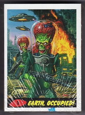 2015 MARS ATTACKS OCCUPATION Factory Sealed 45 Card Heritage Style Parallel Set