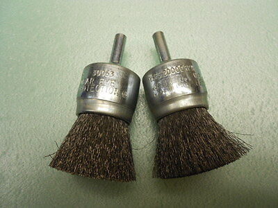 """Osborn 30063 1"""" Crimped Wire End Brush ( Lot Of 2)"""