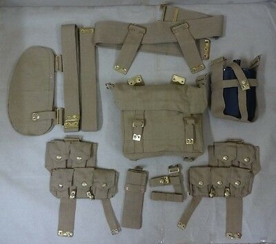 WWI Canadian / British P08 Web Set (Complete Set) - Reproduction