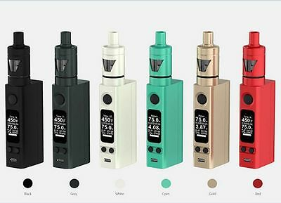 Temperature Control VTC E Kit 75W Electronic Vape E Pen Cigarettes Vapor Kit