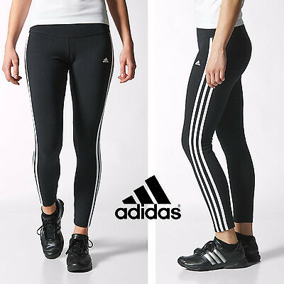 Adidas Women Essential Tights Running Gym Sports Training Trouser ExcercisePants
