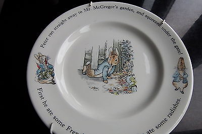 PETER RABBIT Wedgwood plate