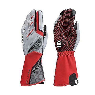 2017 Sparco Handschuhe-MOTION KG-5 Rot (10)