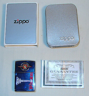 NHRA Winston Drag Racing Zippo Lighter 1995 RARE NEW Mint in the Box