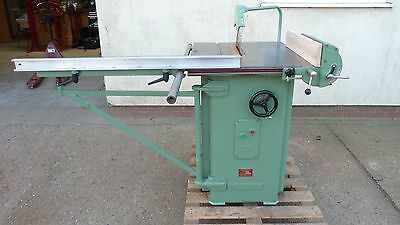 Multico A1 Table Saw, Rip Saw, 3 Phase. Excellent Condition