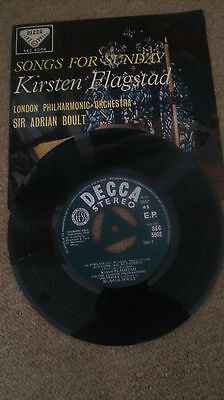 Decca-Sec 5002-Kirsten Flagstad-Stereophonic-Rare