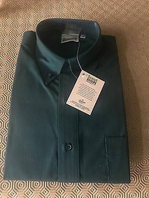 Brand New Scout Uniform Long Sleeve Shirt In Teal Size S