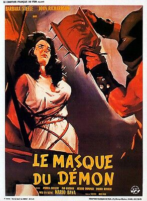 LE MASQUE DU DEMON  16mm de Mario Bava, avec Barbara Steele N/B VF