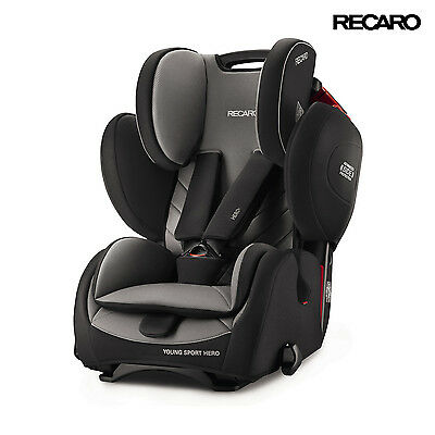 Recaro Young Sport Hero Carbon Black Auto-Kindersitze (9-36 kg)