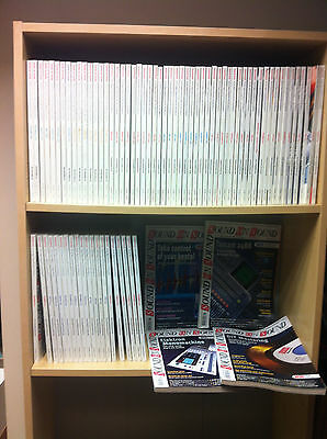 Collection Job Lot of Sound On Sound Magazines, 1997-2004