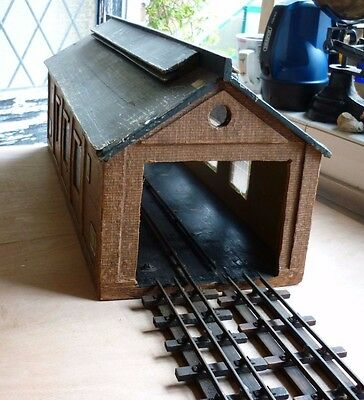 Vintage Bassett Lowke O Gauge Double  Engine Shed