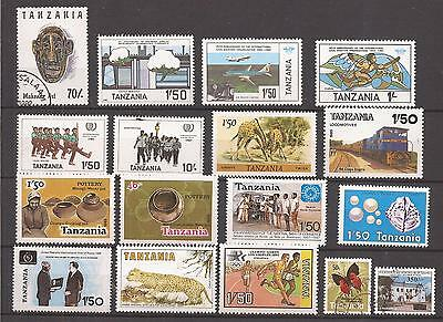 TANZANIA  -  LOT OF STAMPS  ( almost all MNH )