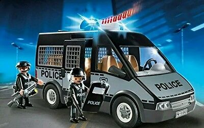 Playmobil 6043 City Action Police Van with 2 Policemen FREE delivery Brand New