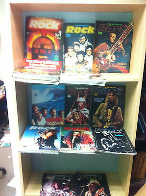 Collection of The History of Rock Magazine, No 1-122 (only three missing)