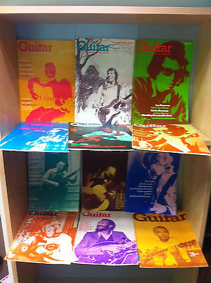Collection of Guitar - The Magazine For All Guitarists, 1973-80 Ed: G. Clinton