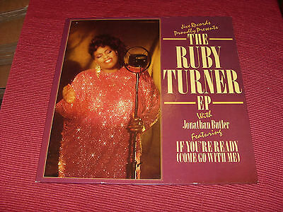 """Ruby Turner:  If you're ready     12""""  EP     STUNNING NEAR MINT"""