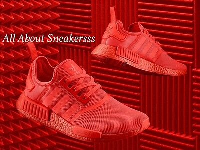 Adidas NMD R1 Triple Red Boost Solar Reflective S31507 Limited 6 7 8 9 10 11 dc6426d88fbf