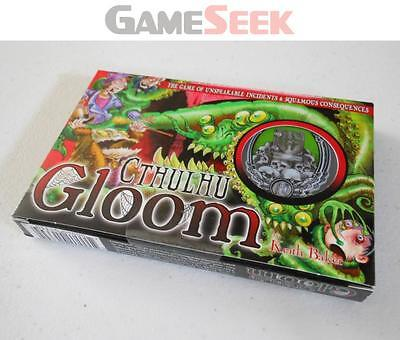 Cthulhu Gloom Card Game - Games/puzzles Card Games Brand New Free Delivery