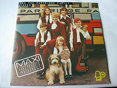 """The Partridge Family - Maxi Single - Breaking Up / I Think I Love You - Bell 7"""""""