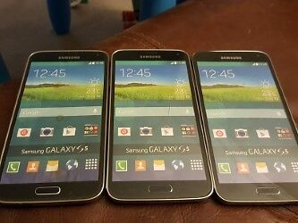 DUMMY/DISPLAY SAMSUNG GALAXY S5:  NICE LOT OF 3 ***Please read description***