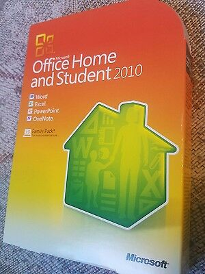Microsoft  Office Home and Student 2010 32/64-Bit (Retail (License + Media)) (3…