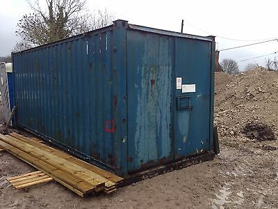 20 foot site storage container