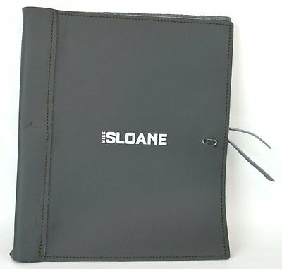 Miss Sloane Screenplay Script Autographed Signed Jessica Chastain John Madden