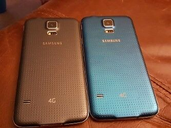 DUMMY/DISPLAY SAMSUNG GALAXY S5 NICE LOT OF 2 *Please read description***