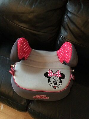 minnie mouse girls booster seat