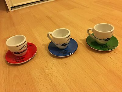 Porsche Espresso Cup Set Genuine 2.7 RS