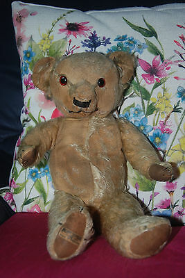 "REDUCED! RARE Vintage Antique Old Teddy Bear Merrythought 1930/1940 ""Magna Bear"""