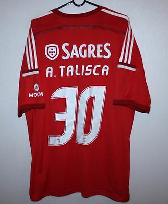 Benfica Portugal home shirt 14/15 #30 Talisca Adidas BNWT Size XL