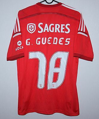Benfica Portugal home shirt 14/15 #78 Guedes Adidas BNWT Size S PSG