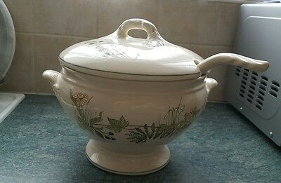 royal winton soup tureen and ladle