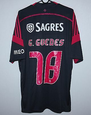Benfica Portugal away shirt 14/15 #78 Guedes Adidas Size L