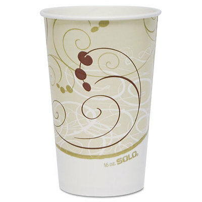 SOLO Paper Cold Cups 16 oz. Symphony Design 50/Bag RP16PSYM