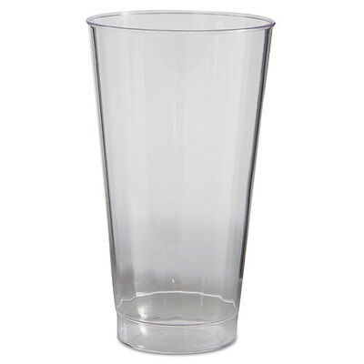 WNA Classic Crystal Tumblers 16 oz Clear Fluted Tall 20/Pack 240/Carton CC16240