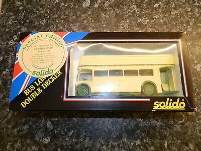 Southern Vectis 1:50 Scale Special Edition Solido OpenTop Bus AEC Regent No.901