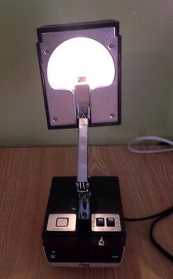 VINTAGE 1970's COSMO TIME WOOD GRAIN  ALARM CLOCK  ARM LIGHT ALL IN ONE
