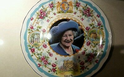 Chinaplate To Commemorate The Centenary Of Queen Elizabeth The Queen Mother 2000