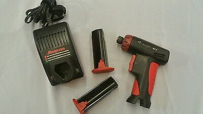 Snap On Cordless Screwdriver Impact 2/battery 1 Charger Cts561Cs
