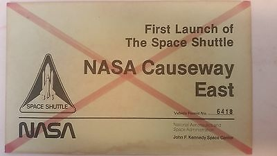 NASA First Space Shuttle Launch Parking Permit